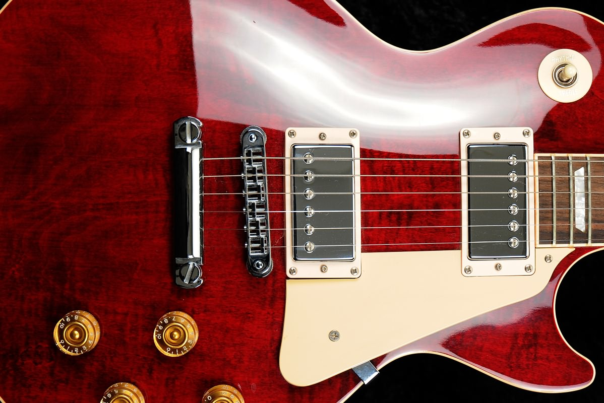 gibson les paul standard wine red 1998 used with ohsc. Black Bedroom Furniture Sets. Home Design Ideas