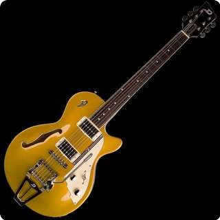 Duesenberg Starplayer Tv Semi Hollow Electric Guitar   Gold Top With Case   Sold