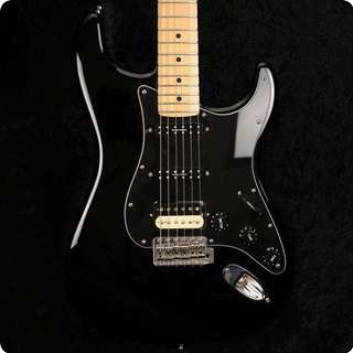 Fender Usa 2002 American Standard Stratocaster   Black With Seymour Duncan Pickups   Used