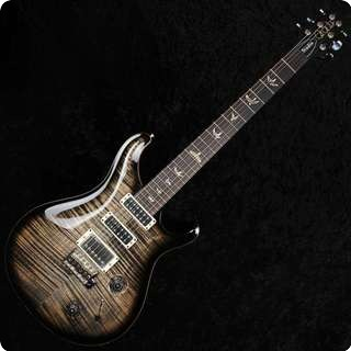 Prs Studio Charcoal Burst 10 Top   Pattern Thin   Trem