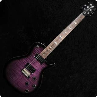 Prs Se Tremonti Custom   Trem With Up Route   Uk Ltd Edition   Purple Burst