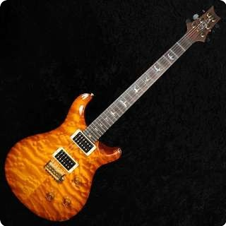 Prs Custom 24 Artist Pack   Quilt Top    Violin Amber Sunburst   Used