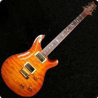 Prs Custom 22 Artist Pack, Gold Hardware Quilt Top   2000 Model   Used