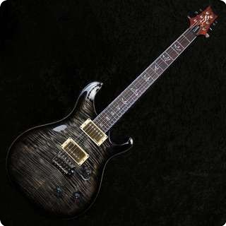 Prs Custom 24 25th Anniversary 10 Top Charcoal Burst Regular 57/08's   Sold
