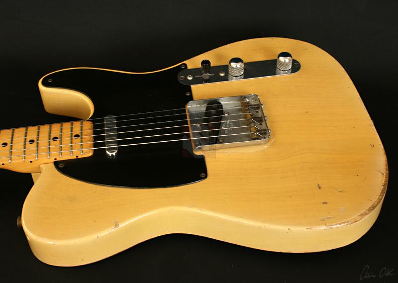 fender telecaster blackguard 1953 guitar for sale ten guitars. Black Bedroom Furniture Sets. Home Design Ideas