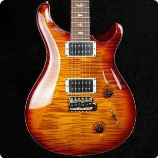 Prs Custom 22 Dark Cherry Sunburst   2013   57/08's   Pattern