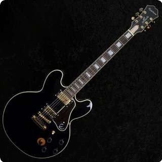 Epiphone Lucille B B King Jazz Blues Guitar   Black, Gold Hardware