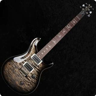 Prs Custom 24 2012 10 Top   Charcoal Burst   Pattern Thin