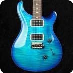 PRS Custom 24 Makena Blue 2013 5708s Pattern Thin