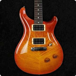 Prs Custom 24 1993 Stoptail   10 Top   Moons   Vintage Sunburst   Used