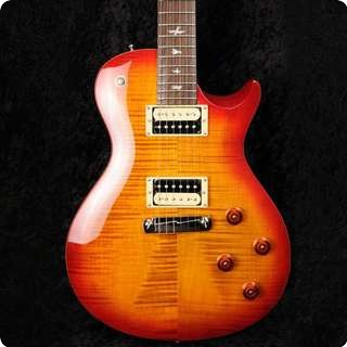 Prs Se 245 Cherry Sunburst Flame Top Electric Guitar With Gigbag