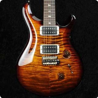 Prs Custom 24 Black Gold   2013   57/08's   Pattern Thin