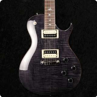Prs Se 245 Grey Black Flame Top Electric Guitar With Gigbag