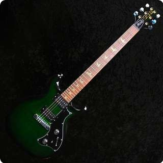 Prs Mira Green With Birds, V12 Finish, Hard Case 2011 Model
