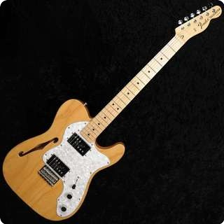 Fender Thinline '72 Reissue Telecaster   Natural   Used   Mint Condition