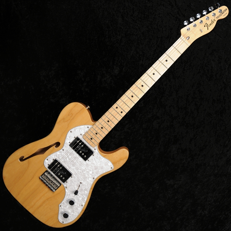 fender thinline 39 72 reissue telecaster natural used mint condition. Black Bedroom Furniture Sets. Home Design Ideas