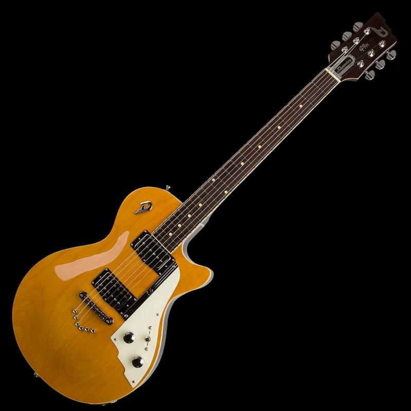 duesenberg 49er solid body electric guitar honey with case. Black Bedroom Furniture Sets. Home Design Ideas