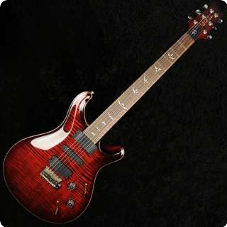 Prs 513 Maple 10 Top Fire Red Electric Guitar