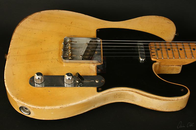 fender telecaster 1954 guitar for sale ten guitars. Black Bedroom Furniture Sets. Home Design Ideas