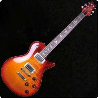 Prs Stripped 58 Smoked Cherry Burst Singlecut Electric Guitar   Sold