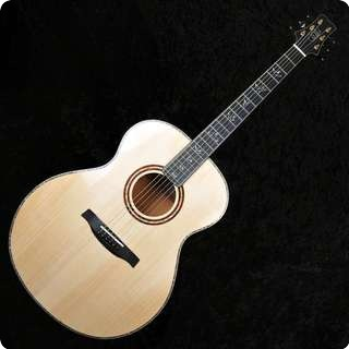 Prs Tonare Grand Electro Acoustic Guitar Natural Figured Mahogany   Sold