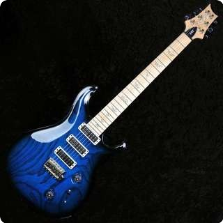 Prs Swamp Ash Special Narrowfield 25th Anniversary Sapphire Smokeburst   Used   Sold