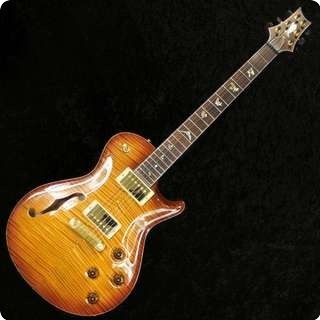 Prs Private Stock No. 2141 Singlecut Semi Hollow Vintage Amber Burst