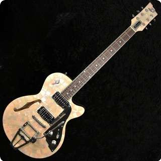 Duesenberg Starplayer Tv Semi Hollow Ice Pearl Limited Edition Electric Guitar