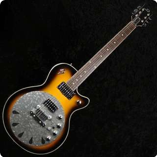 Duesenberg Rezobro 2tone Sunburst Hollowbody Electric Guitar And Resonator