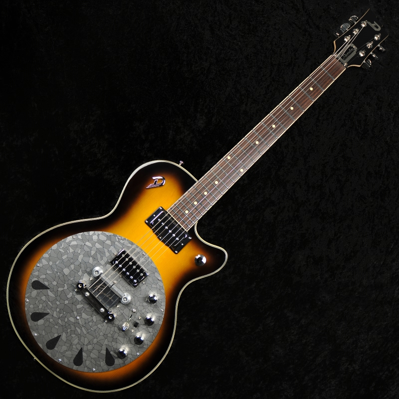 duesenberg rezobro 2tone sunburst hollowbody electric guitar and resonator 0 guitar for sale. Black Bedroom Furniture Sets. Home Design Ideas