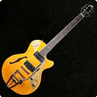 Duesenberg Starplayer Tv Semi Hollow Electric Guitar   Trans Orange With Case   Sold