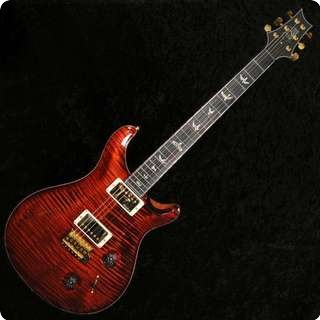 Prs Artist V Limited Edition Artist Grade Top Fire Red Pattern Regular   Sold