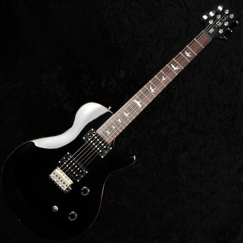 prs se singlecut trem electric guitar black with gigbag. Black Bedroom Furniture Sets. Home Design Ideas