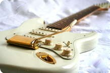 Fender Stratocaster Classic 60 Relic Custom Shop 2002 Olympic White