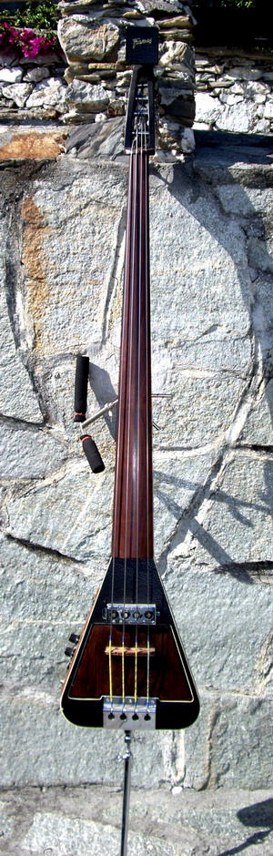 framus triumph upright bass 1960 natural wood bass for sale hendrix guitars. Black Bedroom Furniture Sets. Home Design Ideas