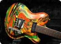 Nik Huber Guitars Twangmeister Swirl 2013 Swirl