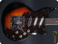Framus Strato Deluxe 1965 Sunburst