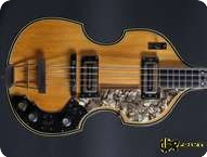 Hofner 5000 Deluxe 1968 Natural