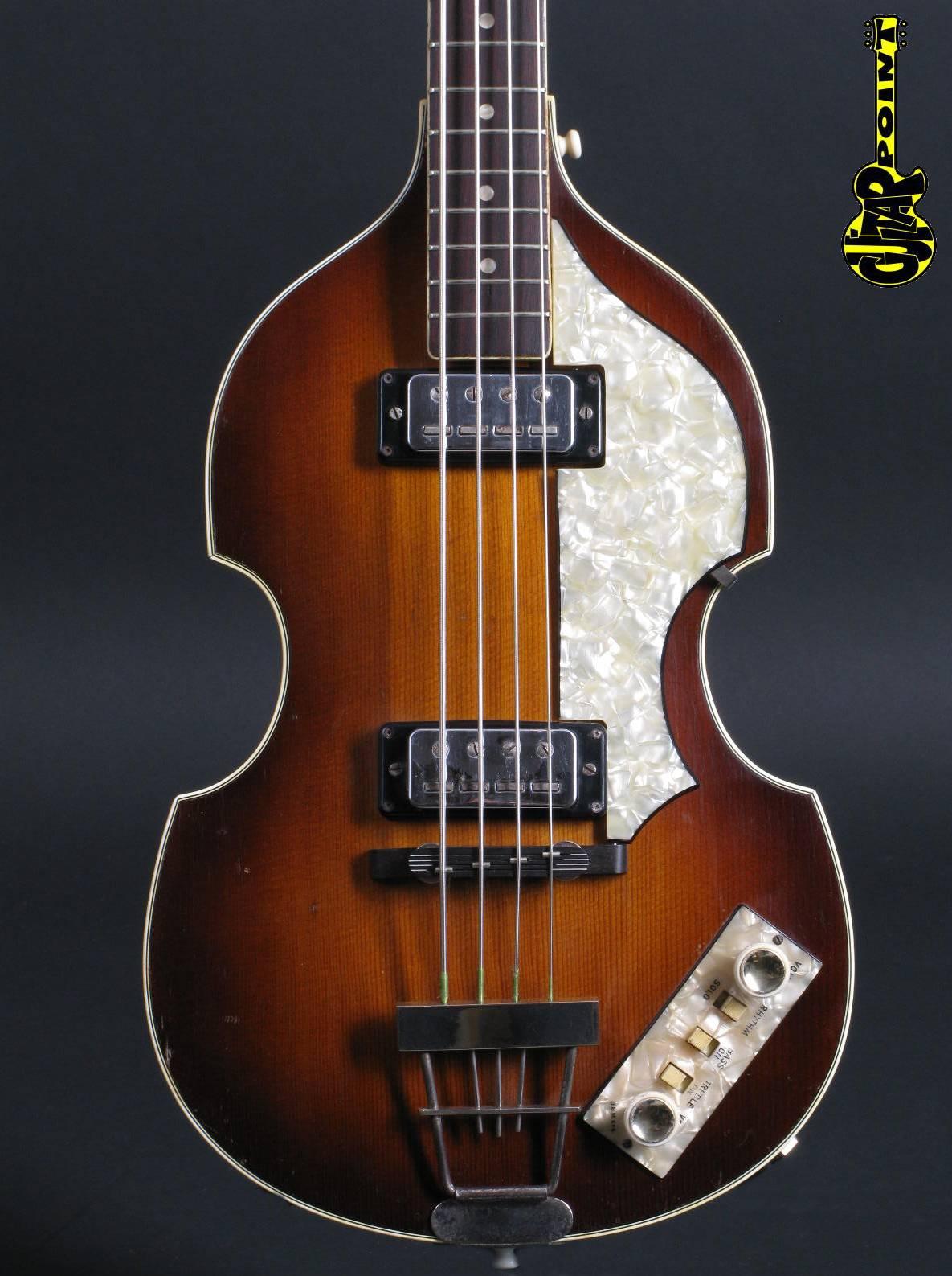 hofner 500 1 beatles bass 1965 sunburst bass for sale guitarpoint. Black Bedroom Furniture Sets. Home Design Ideas