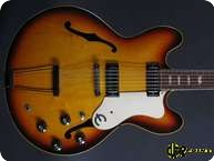 Epiphone Riviera 1967 Sunburst