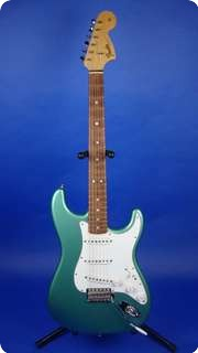 Fender Custom Shop Stratocaster   1966 Re Issue   Time Machine 2006 Teal