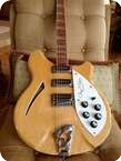 Rickenbaker 370 12 ROGER MCGUINN 1988 MAPLE GLOW