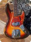 Fender Jazz Bass 1961 Faded 3 Tone Sunburst
