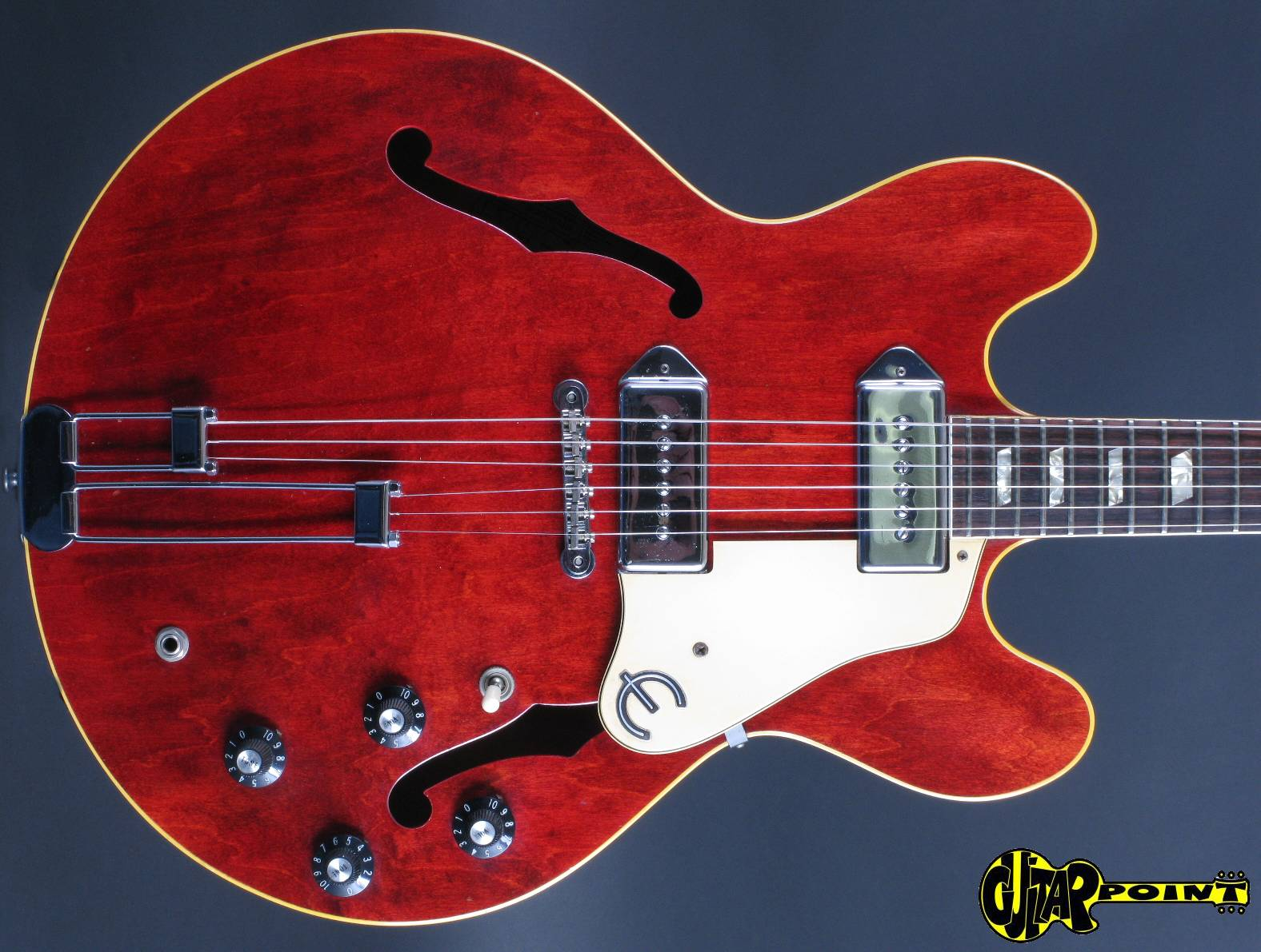 epiphone elitist casino cherry