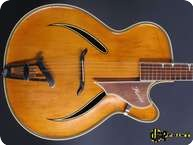 W.Herold Jazz Guitar 1959 Natural