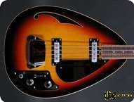 Vox Teardrop 2013 Sunburst