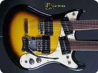 Moserite Joe Maphis Mark XVIII Doubleneck 1966 Sunburst