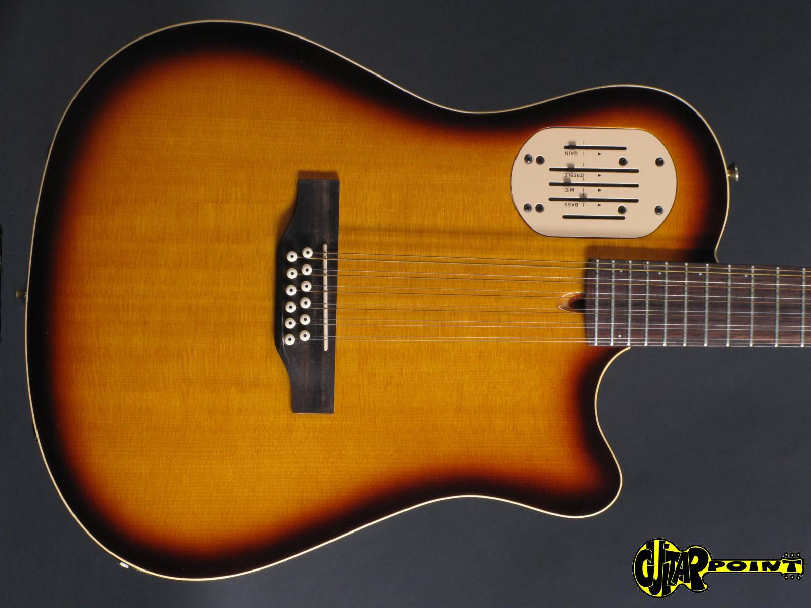 Godin Guitars For Sale : godin a12 12 string 1994 sunburst guitar for sale guitarpoint ~ Russianpoet.info Haus und Dekorationen