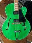 R.C Allen Leader Jazz Guitar 1996 See Thru Green