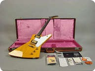 Gibson Custom Shop 50th Ann. Korina Explorer 2008 Korina